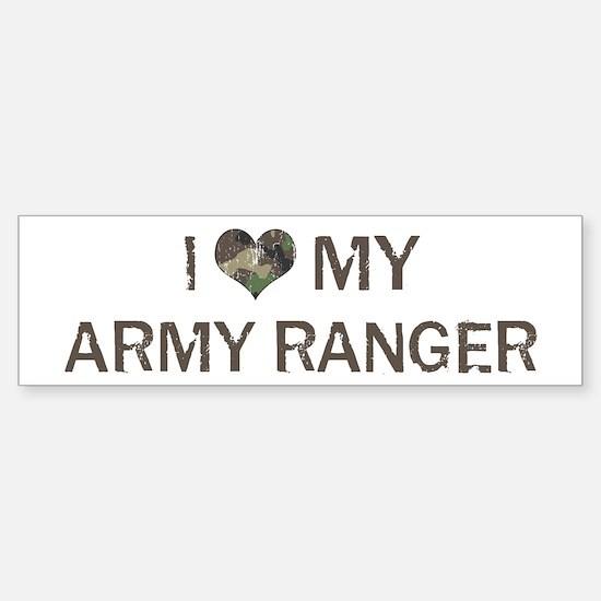 Army Ranger: Love - Vintage Bumper Bumper Bumper Sticker
