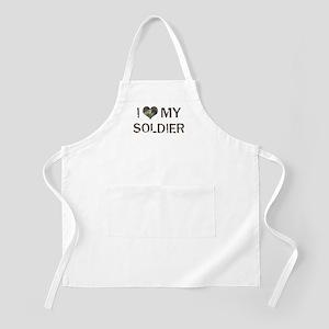 Soldier: Love - Vintage BBQ Apron