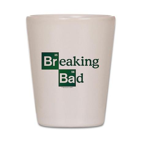 Breaking Bad Logo Shot Glass