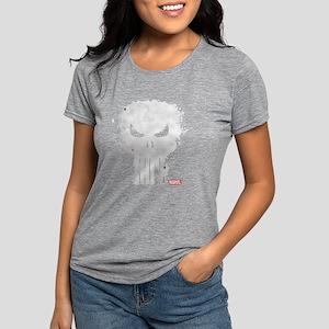 PunisherSkull-DARKONLY Womens Tri-blend T-Shirt