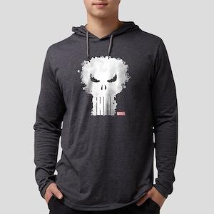 PunisherSkull-DARKONLY Mens Hooded Shirt
