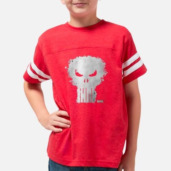 PunisherSkull-DARKONLY Youth Football Shirt