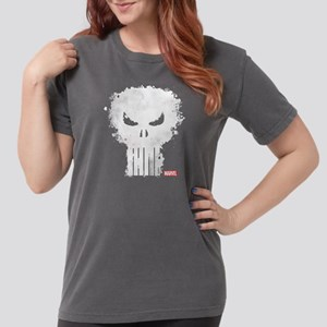 PunisherSkull-DARKONLY Womens Comfort Colors Shirt