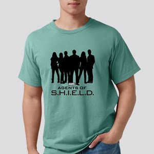 Agents of S.H.I.E.L.D. S Mens Comfort Colors Shirt