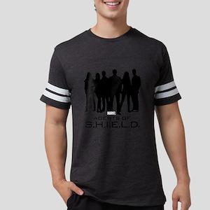 Agents of S.H.I.E.L.D. Silhoue Mens Football Shirt