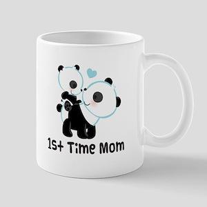 1st Time Mom Panda Gift Mug