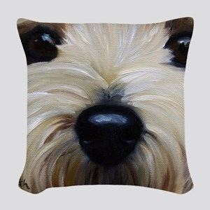 Up Close and Personal Woven Throw Pillow