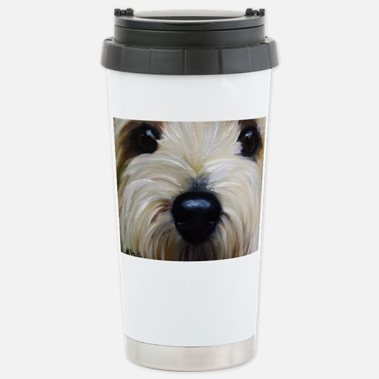 Up Close and Personal Stainless Steel Travel Mug