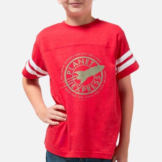 Planet Express Dark Youth Football Shirt