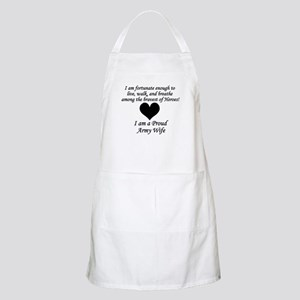 Army Wife Fortunate Apron