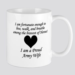 Army Wife Fortunate Mug