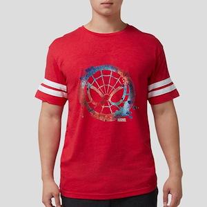 Spider-Man Icon Splatter Mens Football Shirt