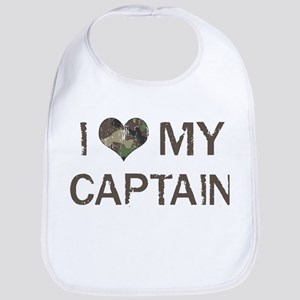 Captain: Love - Vintage Bib