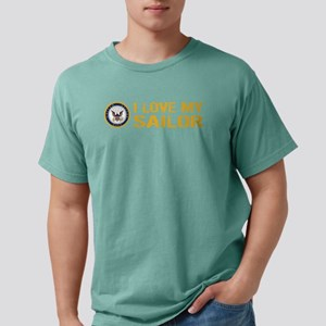 U.S. Navy: I Love My Sai Mens Comfort Colors Shirt