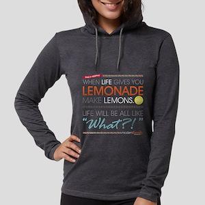 Phil's-osophy Lemonade Dark Womens Hooded Shirt
