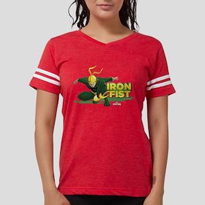 Ultimate Spider-man:  Iron F Womens Football Shirt