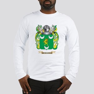McManus Coat of Arms - Family Crest Long Sleeve T-