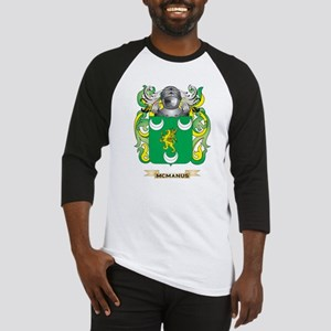 McManus Coat of Arms - Family Crest Baseball Jerse