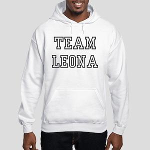 Team LEONA Hooded Sweatshirt