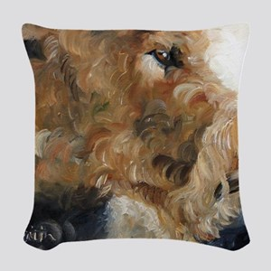 Quiet Moment Woven Throw Pillow