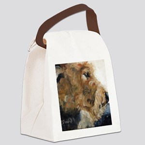 Quiet Moment Canvas Lunch Bag