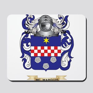 Mc-Marquis Coat of Arms - Family Crest Mousepad