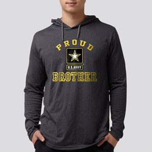 proudarmybrother2 Mens Hooded Shirt