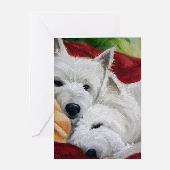 the Art of Snuggling Greeting Card