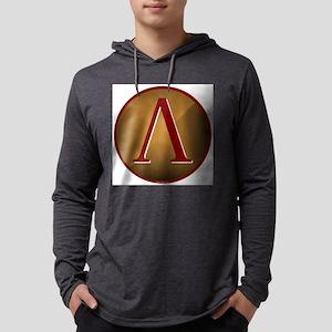 lambdashield Mens Hooded Shirt