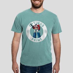 Optimus Prime Circle Mens Comfort Colors Shirt