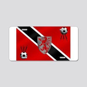 Trinidad Tobago Football Aluminum License Plate