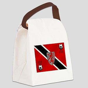 Trinidad Tobago Football Canvas Lunch Bag