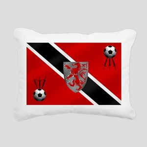 Trinidad Tobago Football Rectangular Canvas Pillow