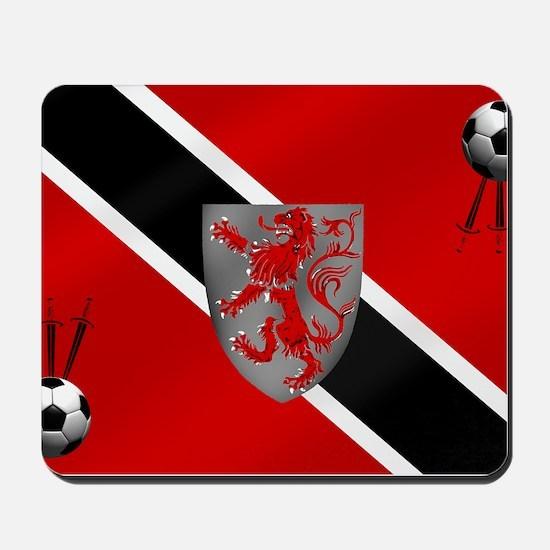 Trinidad Tobago Football Mousepad