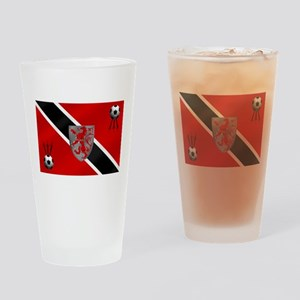 Trinidad Tobago Football Drinking Glass