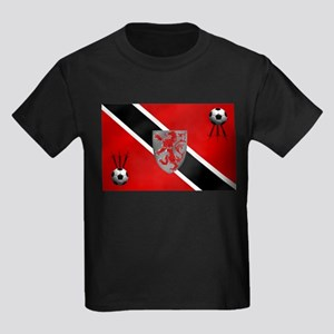 Trinidad Tobago Football Kids Dark T-Shirt