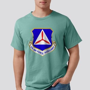 Civil Air Patrol Shield Mens Comfort Colors Shirt