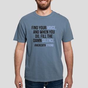 Find Your Voice Mens Comfort Colors Shirt