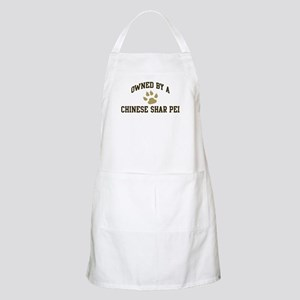 Chinese Shar Pei: Owned BBQ Apron