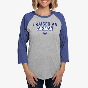 U.S. Air Force I Raised An Air Womens Baseball Tee
