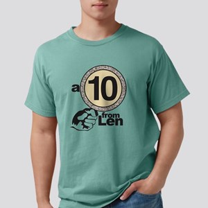 DWTS A 10 From Len Mens Comfort Colors Shirt