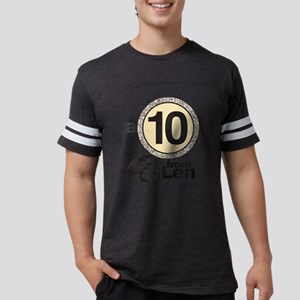 DWTS A 10 From Len Mens Football Shirt