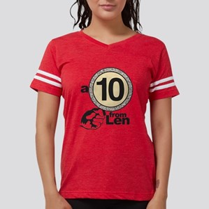 DWTS A 10 From Len Womens Football Shirt