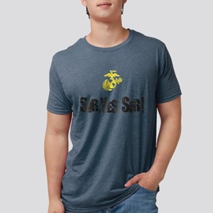 Sir Yes Sir Mens Tri-blend T-Shirt