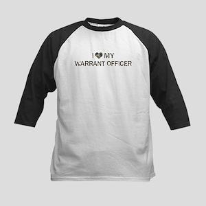 Warrant Officer: Love - Vinta Kids Baseball Jersey