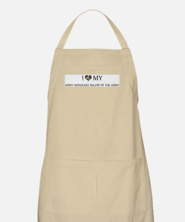 Army Sergeant Major of the Ar BBQ Apron