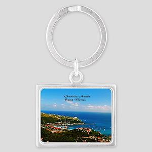 Charlotte-Amalie  Landscape Keychain