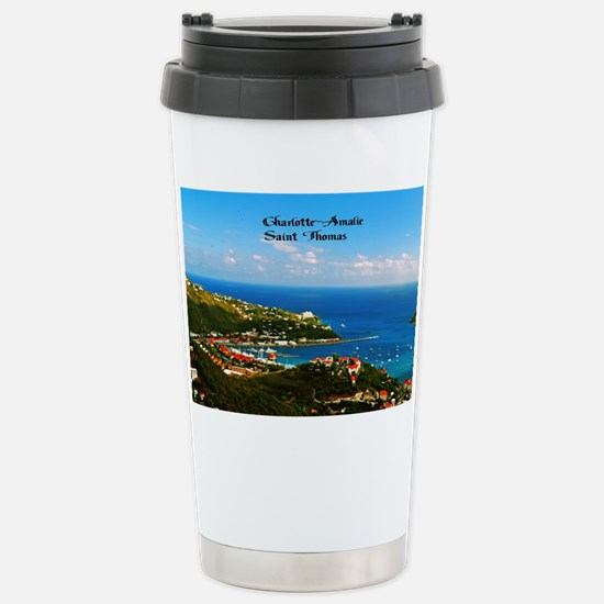 Charlotte-Amalie  Stainless Steel Travel Mug