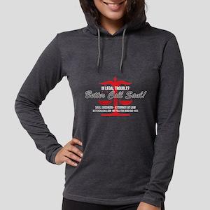 Better Call Saul Red Dark Womens Hooded Shirt