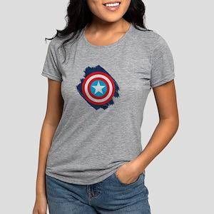 DistressSheild Womens Tri-blend T-Shirt